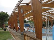 piscina techada de termas del dayman