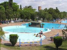 piscinas circulares de las termas de guaviyu